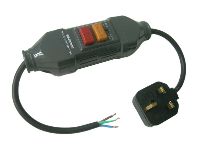 MASTERPLUG IN LINE RCD