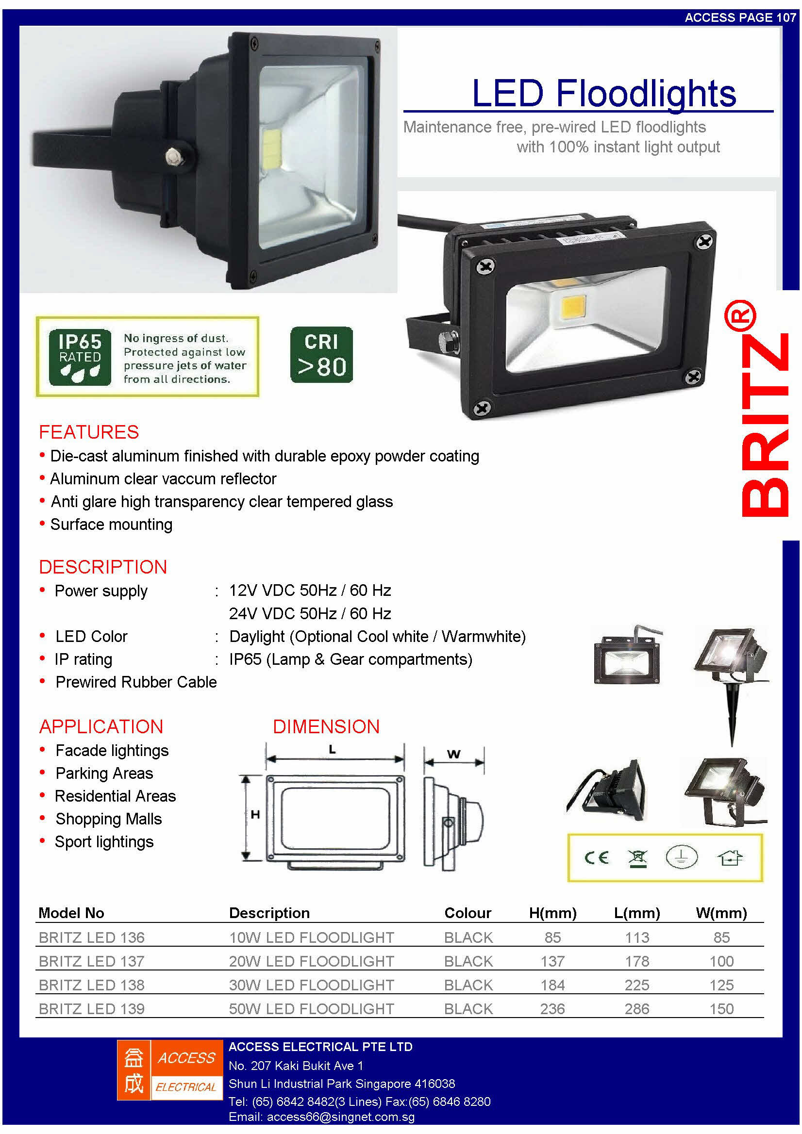 LED FLOODLIGHT 8